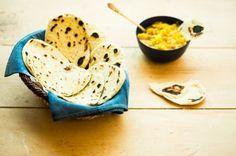 Naan (pão indiano)   Panelinha - Receitas que funcionam