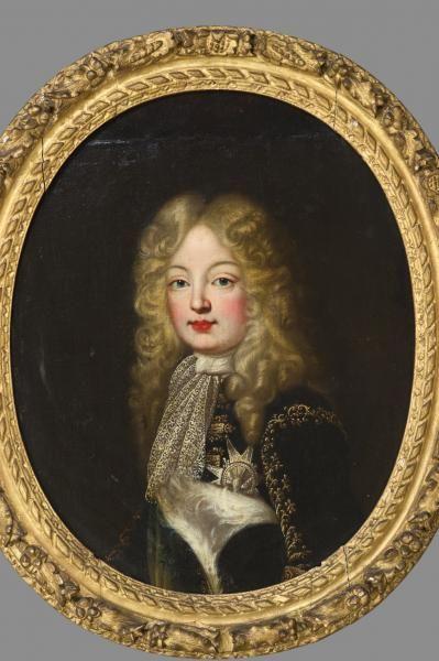 Louis le Grand Dauphin, ca. 1668, school of Pierre Mignard
