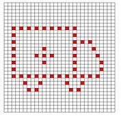 Ravelry: Ambulance Bobble Chart pattern by Kari Philpott