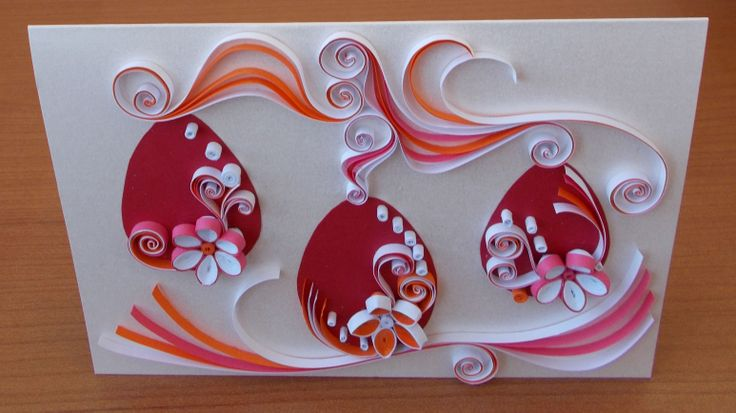 Quilling for Easter