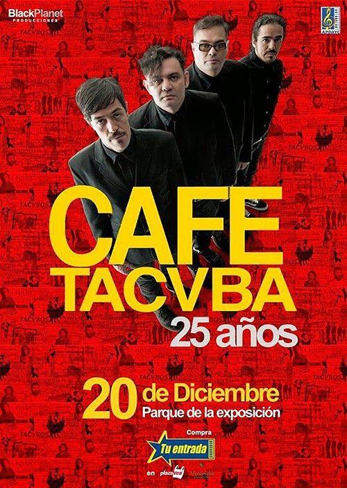Agenda: Café Tacvba en Lima
