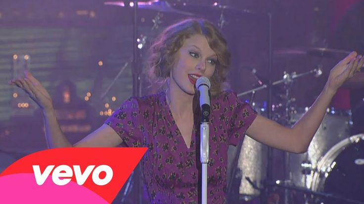 Taylor Swift - Speak Now (2010 Live on Letterman)