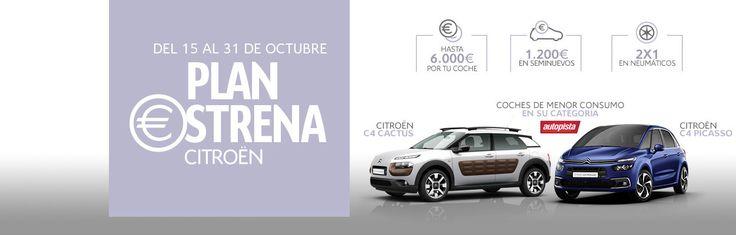 Estrena Citroën y ¡ahorra carburante!