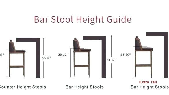 Glorious Stool Height For Kitchen Island Good Stool Height For
