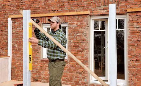 Terrassenüberdachung selber bauen – Sven Jaeger