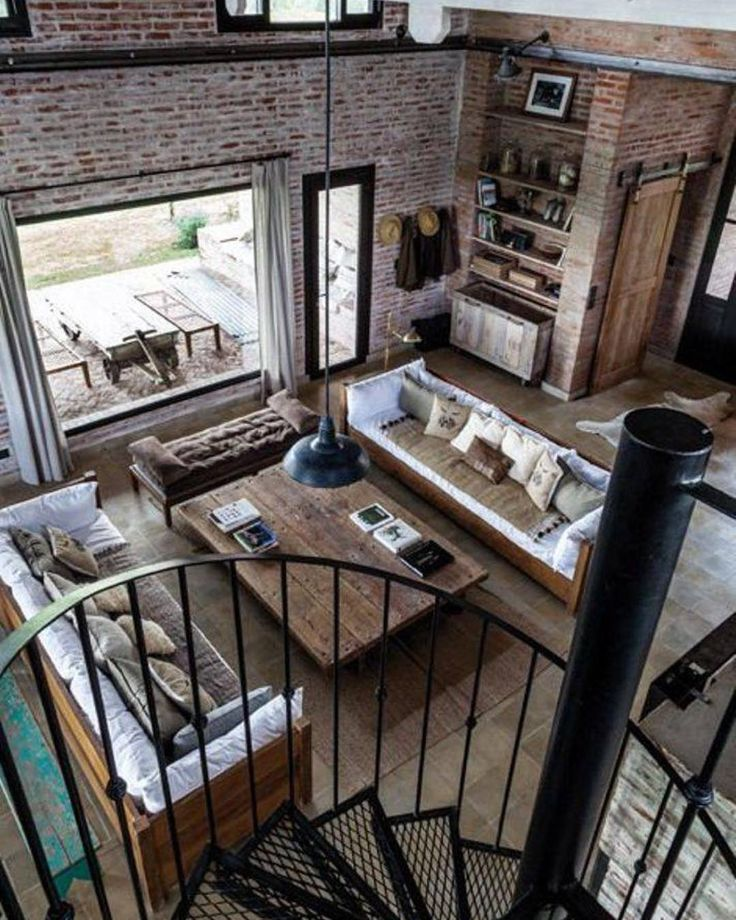 Industrial And Loft Living: 126 Best Images About Interior Design On Pinterest