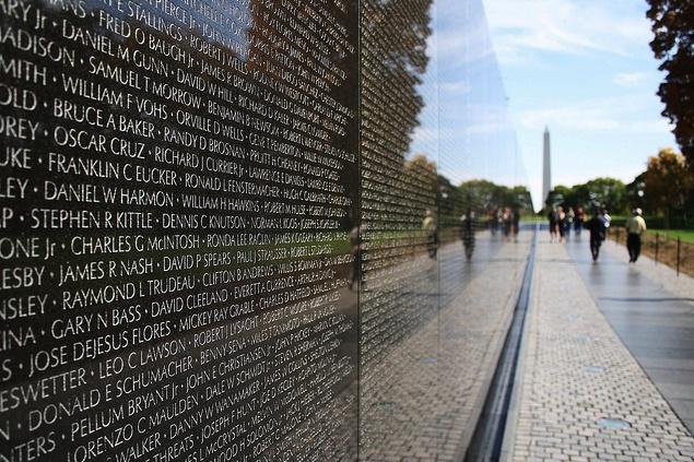 Vietnam Veterans Memorial Wall Washington DC Pinterest