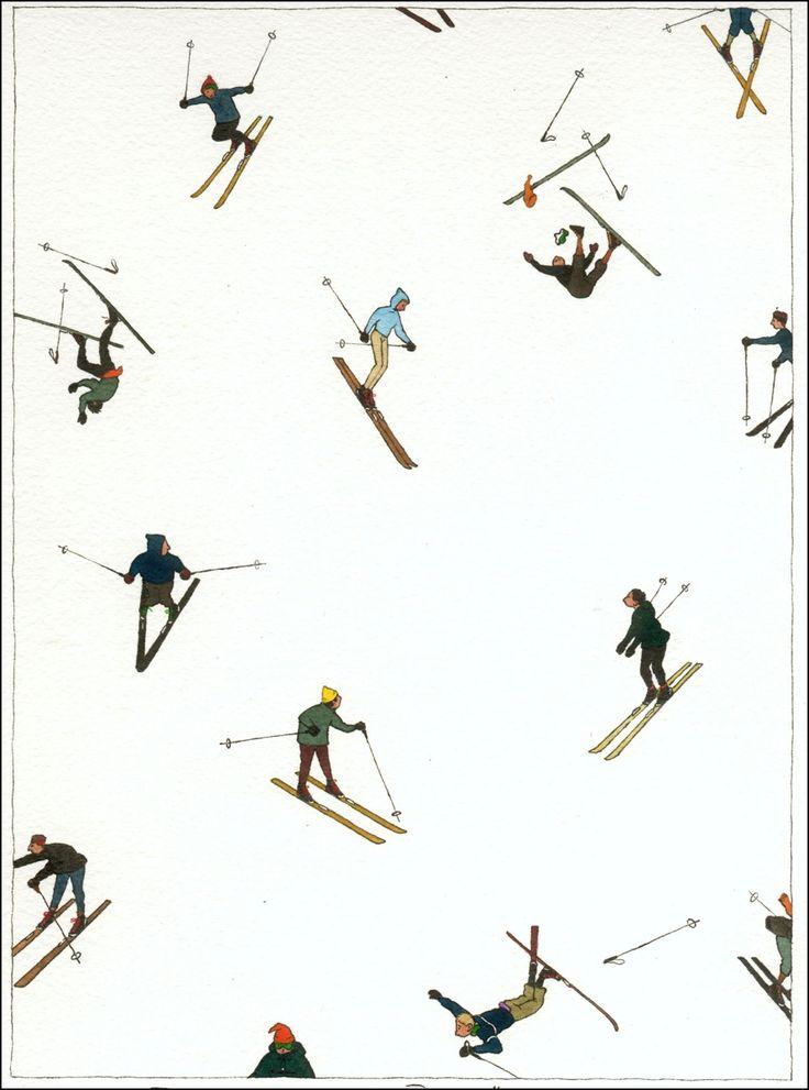 makes me think of ski free.