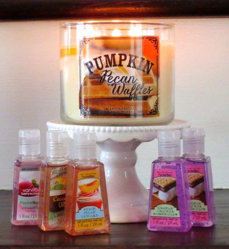 Fall Items Arrive at Bath & Body Works #LuvBBW #BBWInsider #July #BBW #candles #fall #new #pumpkin #pecan #waffles #pocketbac #antibacterial #hands #clean #yummy #delicious #fragrant #scented