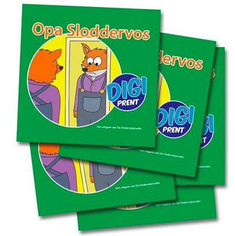 Stimuleer voorlezen thuis en geef kinderen een miniboekje mee naar huis - http://onderwijsstudio.nl/kinderboekenweek-2016/