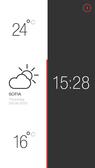 Weather and Time2 by s-pov , via Behance