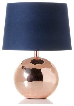 Nate Berkus™ Handcrafted Orbit Table Lamp, Rose - contemporary - table lamps - Home Decor HSN