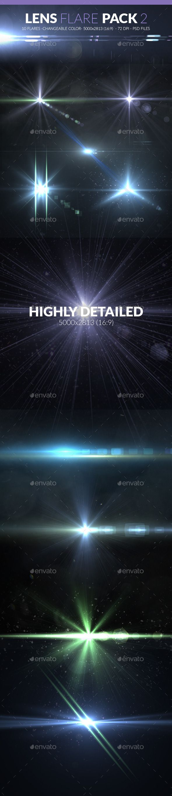 GraphicRiver Lens Flare Pack 2 10531654
