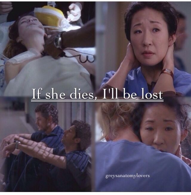 Grey's Anatomy Season 10 Quotes | If she dies I'll be lost