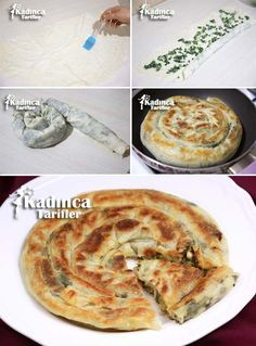 Tavada Ispanaklı Kol Böreği Tarifi