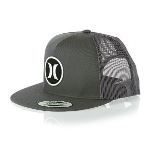 Hurley Caps - Hurley Block Party Trucker Cap - Anthracite