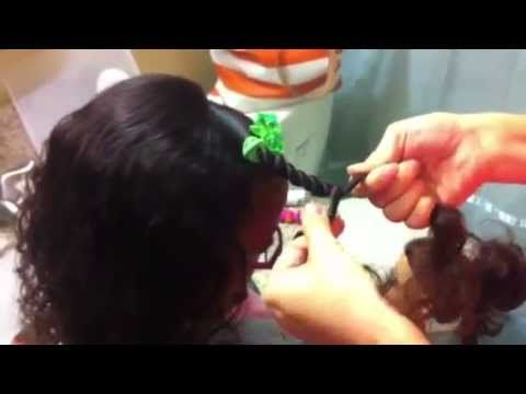 How to do a Two Stranded Twist....so easy and SO CUTE! More tutorials for NATURAL hair care at ibelieveinjoy.com