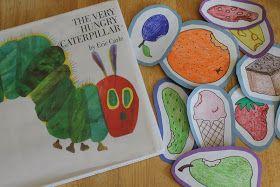 RisC Handmade: The Very Hungry Caterpillar Preschool Activity