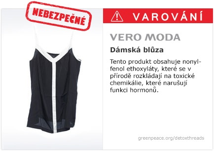Vero Moda blůza   #Detox #Fashion