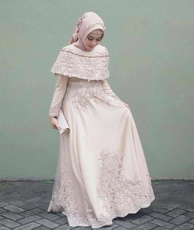 Style Kondangan dengan Dress Hijab Berikut 9175b46975