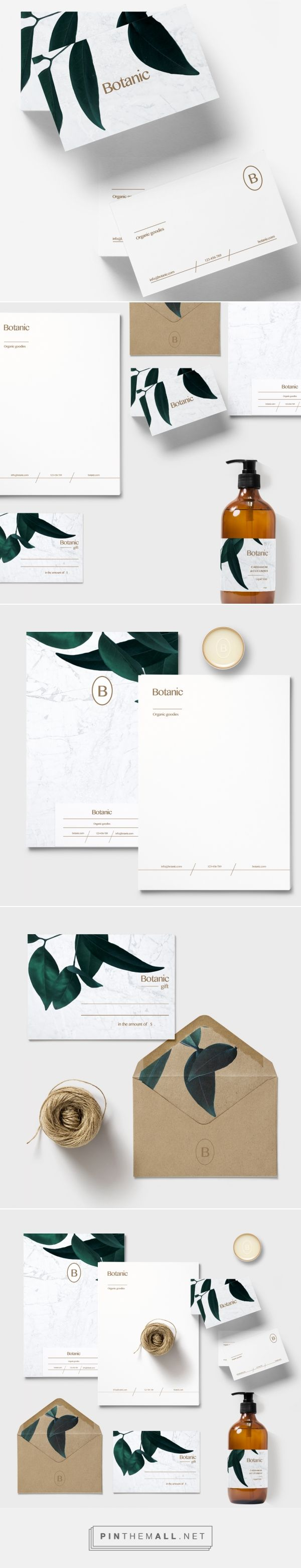 Botanic Organic Products Branding by Loolaa Designs | Fivestar Branding Agency – Design and Branding Agency & Curated Inspiration Gallery
