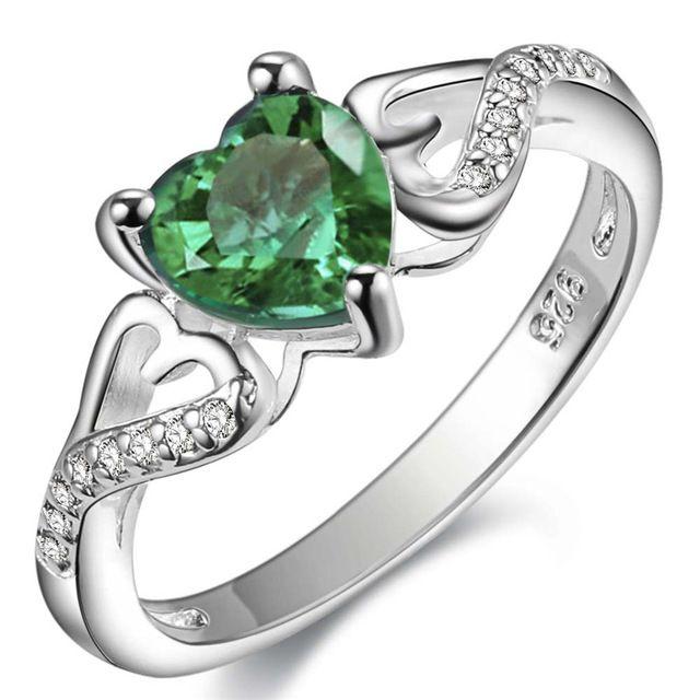 Классический ретро посеребренная оптовая продажа ювелирных изделий элегантный благородный женщины игристые кристалл CZ уход кольцо сладкий стиль