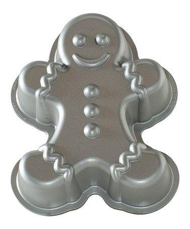 Gingerbread Man Cake Pan #zulily #zulilyfinds