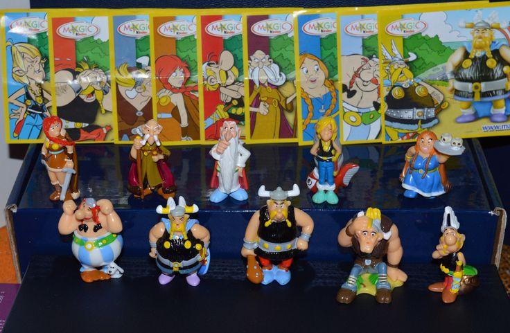 Asterix The Vikings 2006 Kinder Surprise Complete Set 10 Figures 9 BPZ | eBay