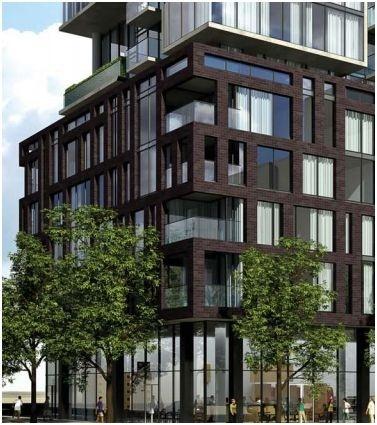 One Eleven Exterior · Brick FacadeContemporary ApartmentCondosFacades BuildingsExterior