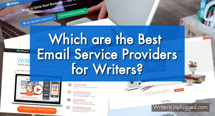Which are the Best Email Service Providers for Writers