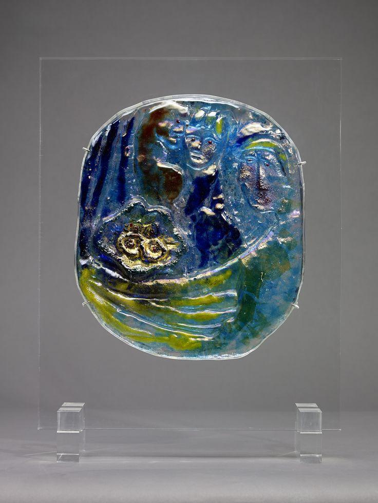 Fidanzati Œuvre créée en 1954 par Egidio Costantini avec Marc Chagall (c) Photo : François Fernandez