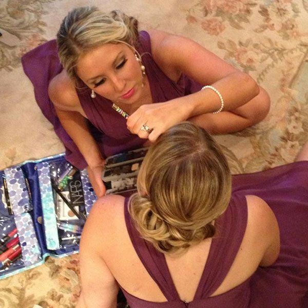 Tutorial: DIY wedding-day makeup for bridesmaids!