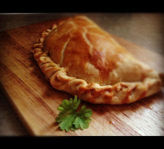 very easy Cornish pasty