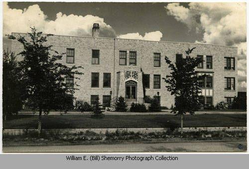 Exterior of The Good Samaritan Hospital, Williston, N.D.