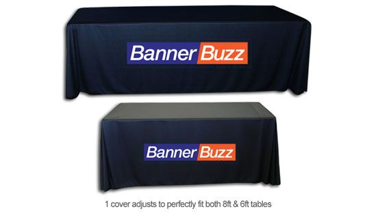 Enhance the beauty of your room with beautifully designed table throws available in several hues.Get ready to impress at the next corporate event with convertible #tablecovers from BannerBuzz.