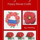 Make poppies for ANZAC to display in vases, on a wreath or as a brooch. $2
