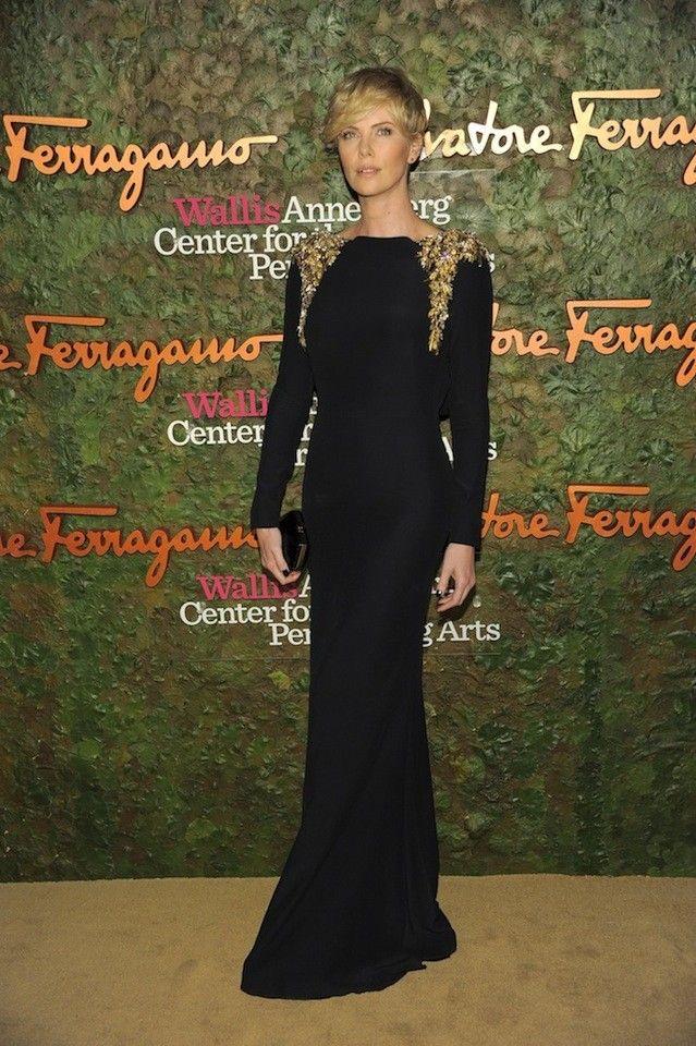 Charlize Theron Alexander McQueen