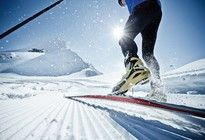 XC skiing in Zell am See - Kaprun