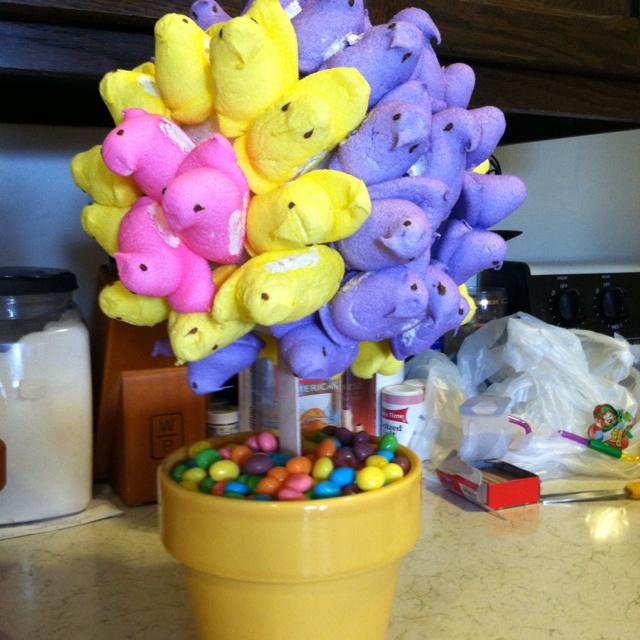 Peep tree!: Holidays Crafts, Peeps Trees
