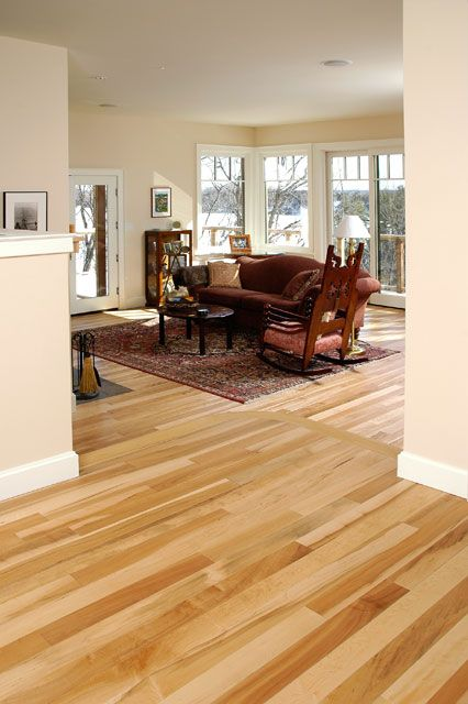 Maple Natural Colours. Gaylord Hardwood Flooring.  Thinking of getting maple floors like this and the walls similar color, trim too.