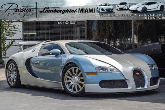 2008 Bugatti Veyron For Sale $1,295,000.