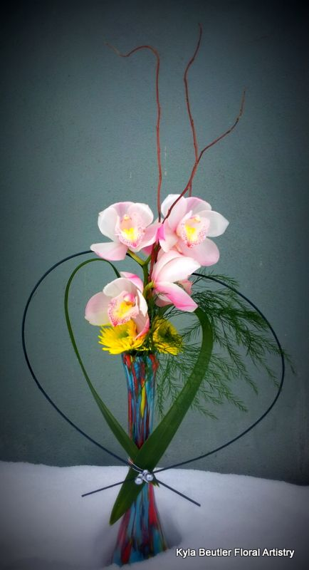 Orchids Kyla Beutler Floral Artistry callalily01@hotmail.com