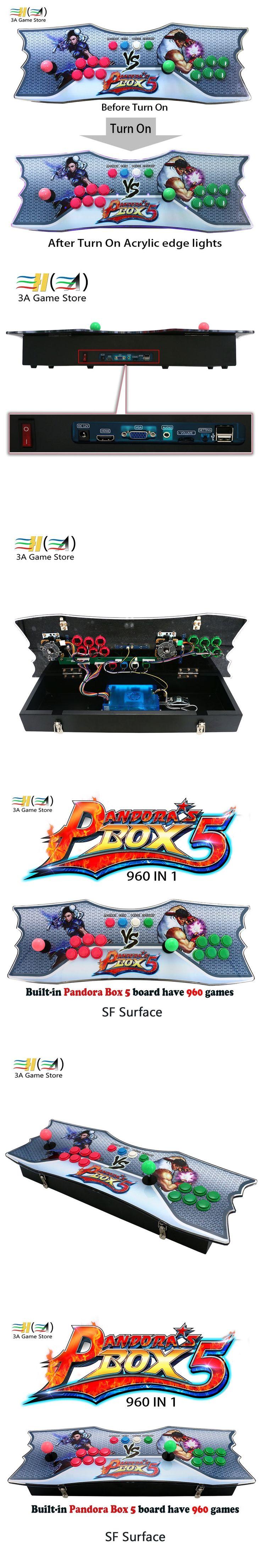 Pandora's Box 5 960 in 1 arcade controller pc TV joystick arcade controle arcade stick pandora box 5 960 in 1 games console