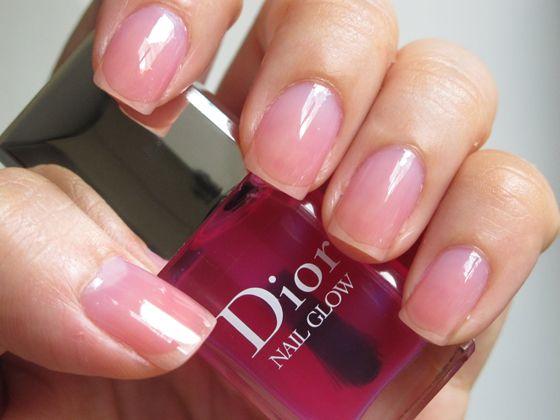 Glow pink nail care kit