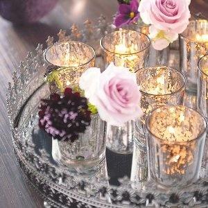 teelicht tablett 9 tlg k che haushalt deko pinterest teelichter haushalte. Black Bedroom Furniture Sets. Home Design Ideas