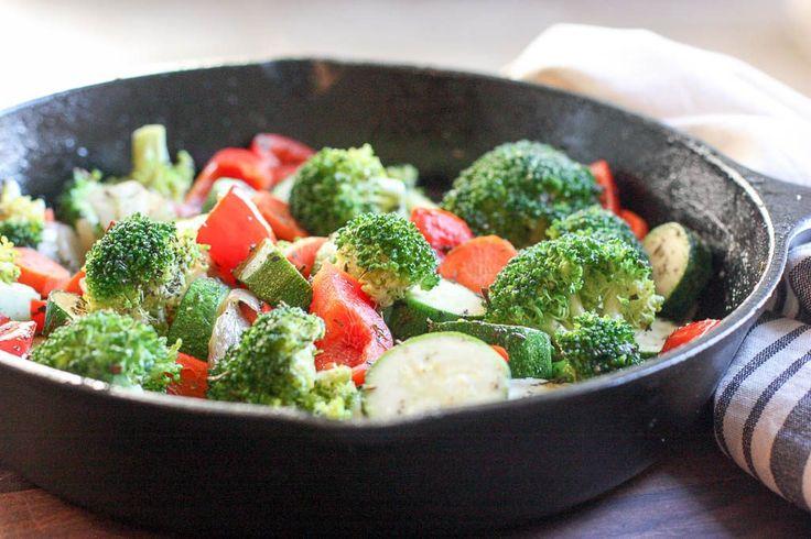 Simply Sautéed Vegetables