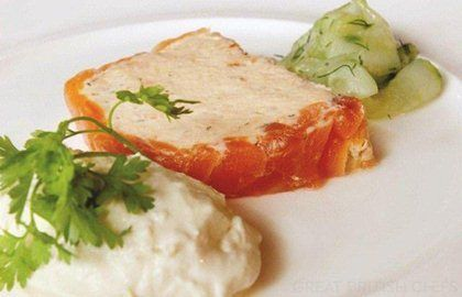 Salmon Terrine Recipe - Great British Chefs