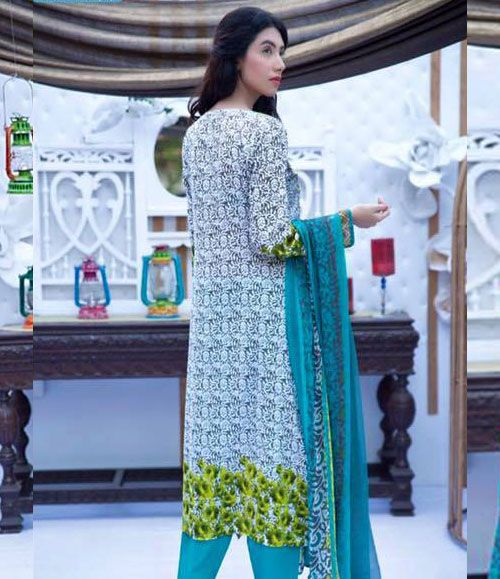 Abeeha By Rana Arts Embroidered Lawn Suits Collection EKR_576(B)