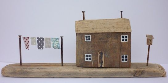"Not a true dollhouse but feels ""dollhousey"", art by Kirsty Elson"