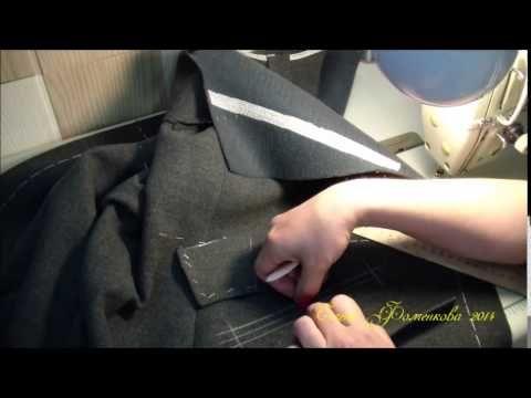 Как научится шить. Женское пальто. Карманы с клапаном. - YouTube